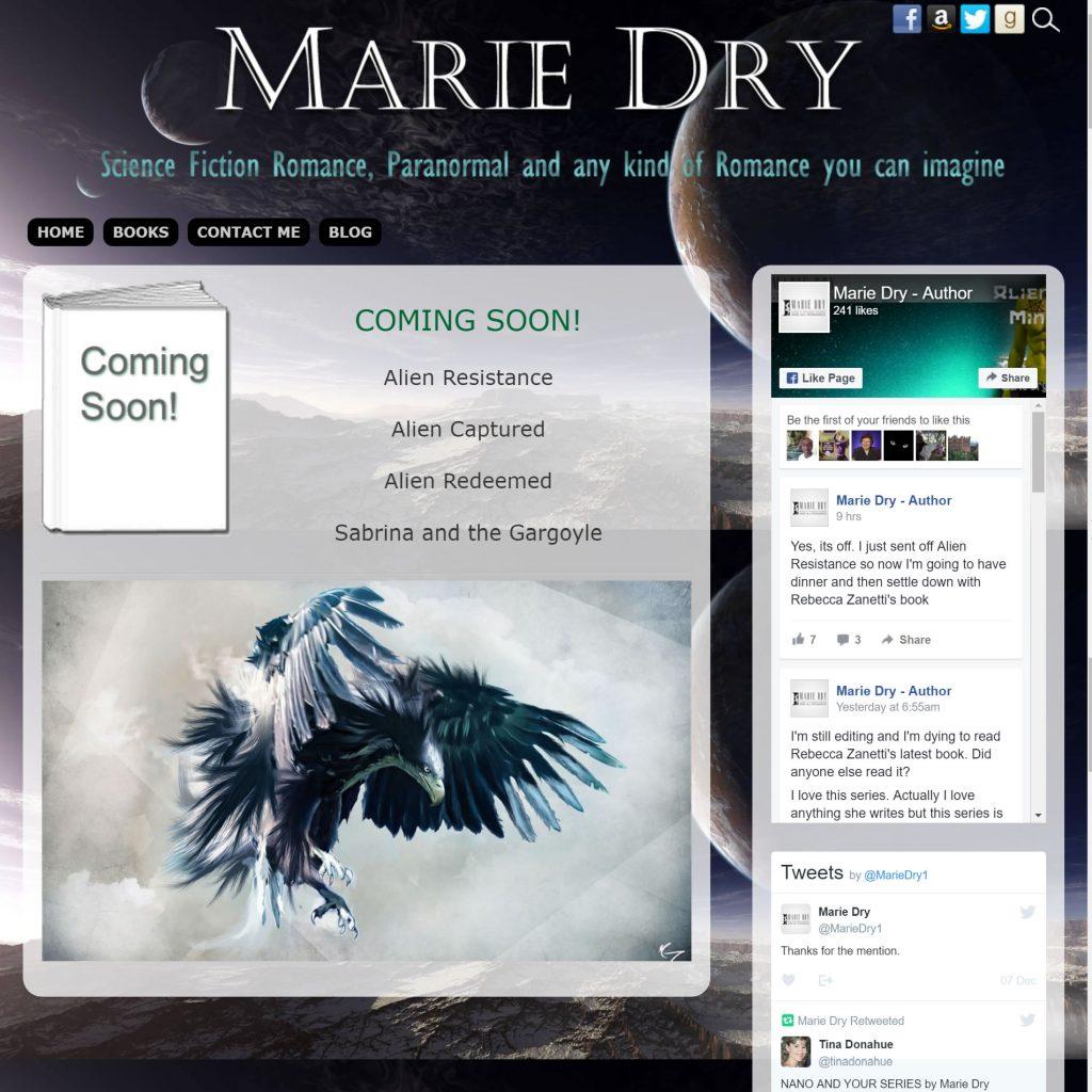 Marie Dry, Author