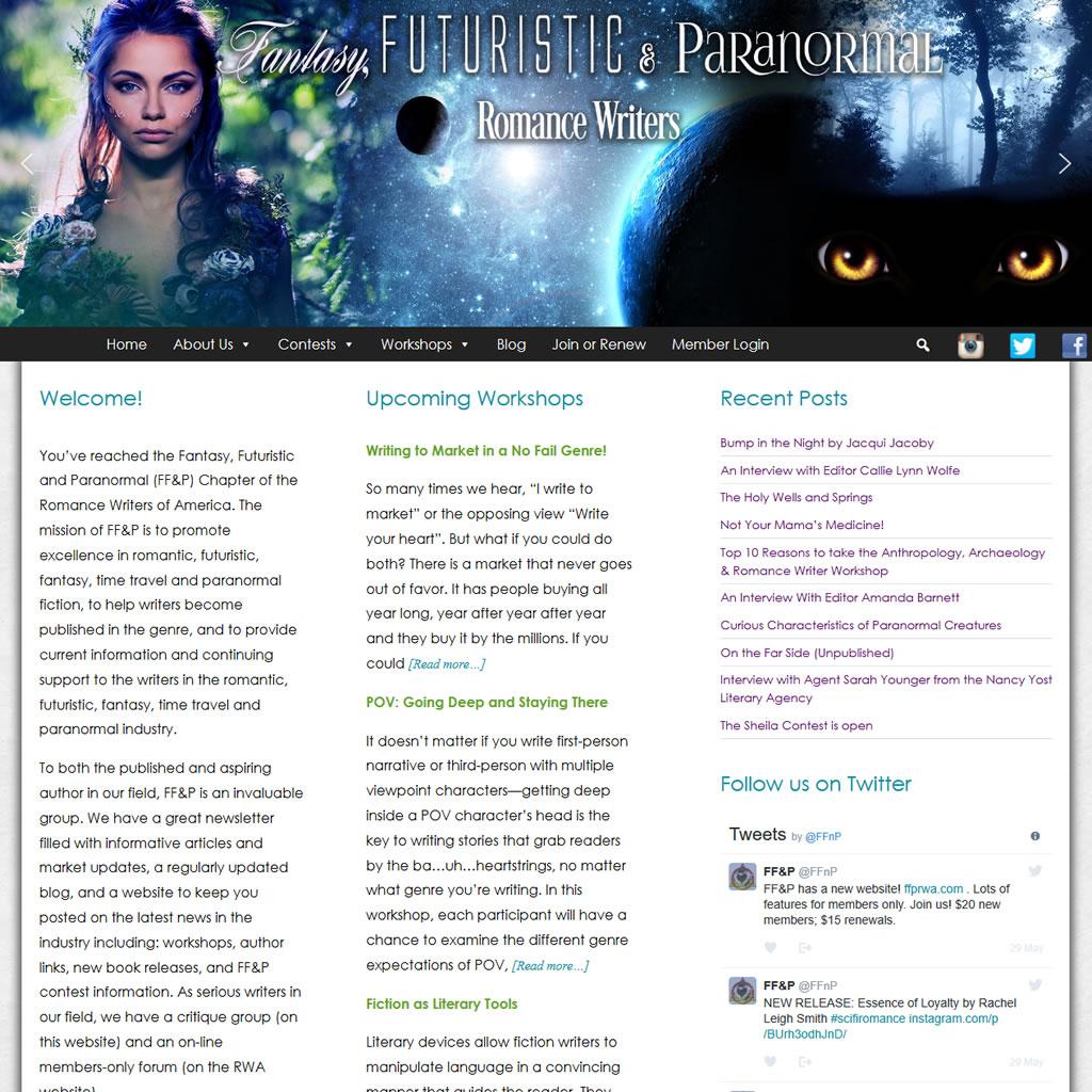 Fantasy, Futuristic & Paranormal