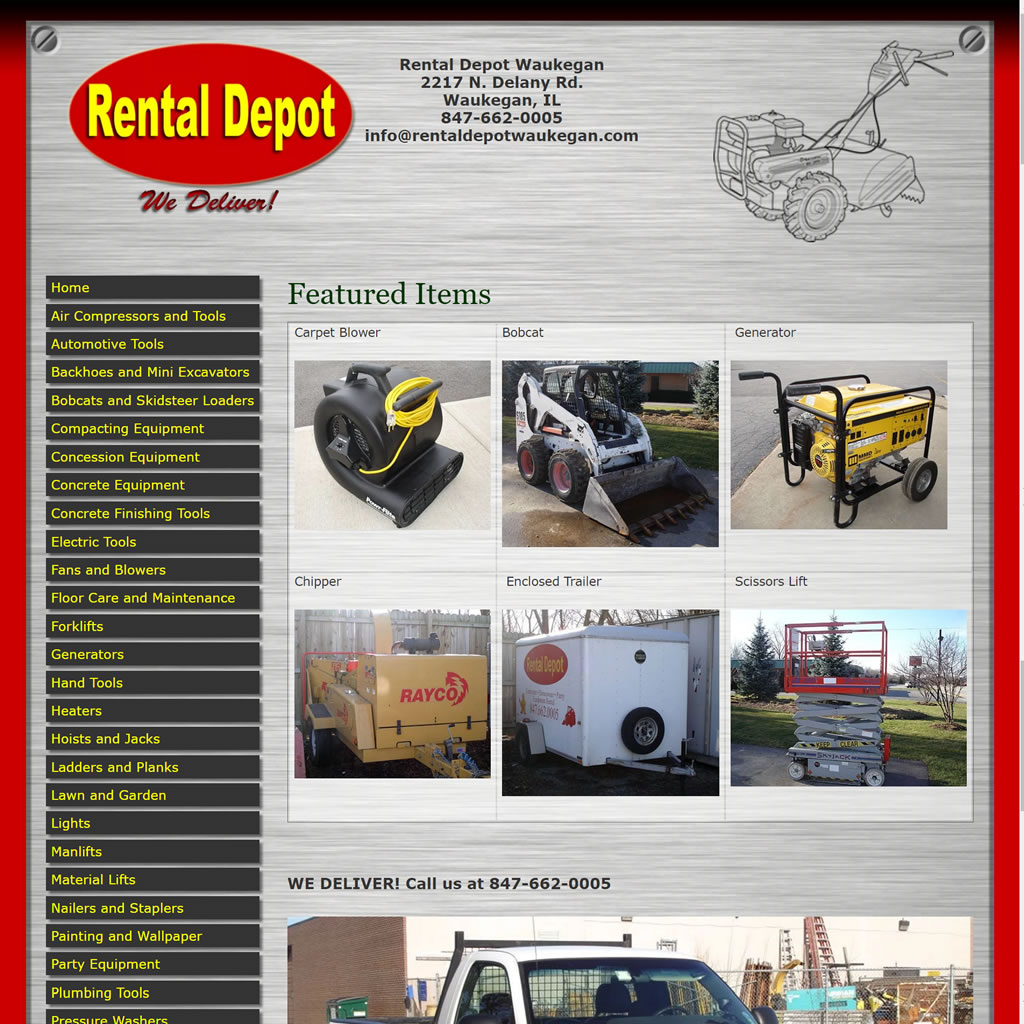 Rental Depot Waukegan